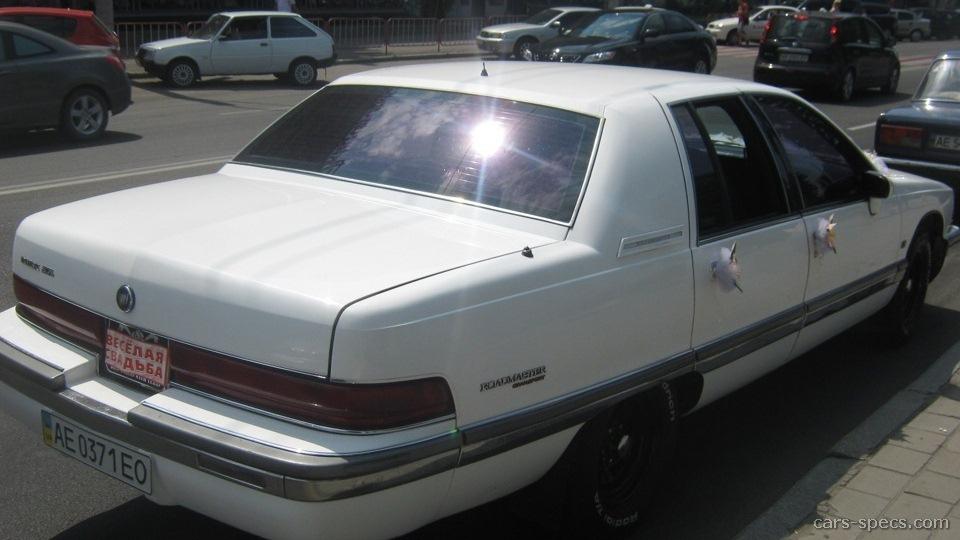 1992 Buick Roadmaster Limited Sedan 5 7l V8 4 Sd Automatic