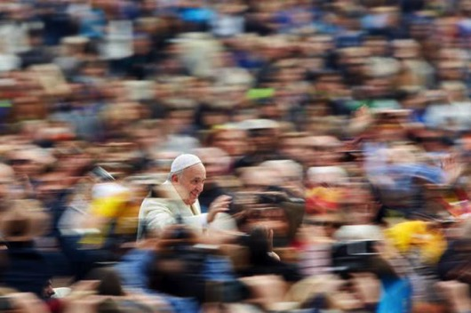 Pope francis blur