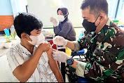 Tim Vaksinasi Lanud Adi Soemarmo Tetap Konsisten Berikan Layanan Vaksin Untuk Masyarakat