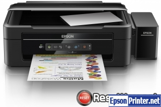 How to reset Epson L386 printer
