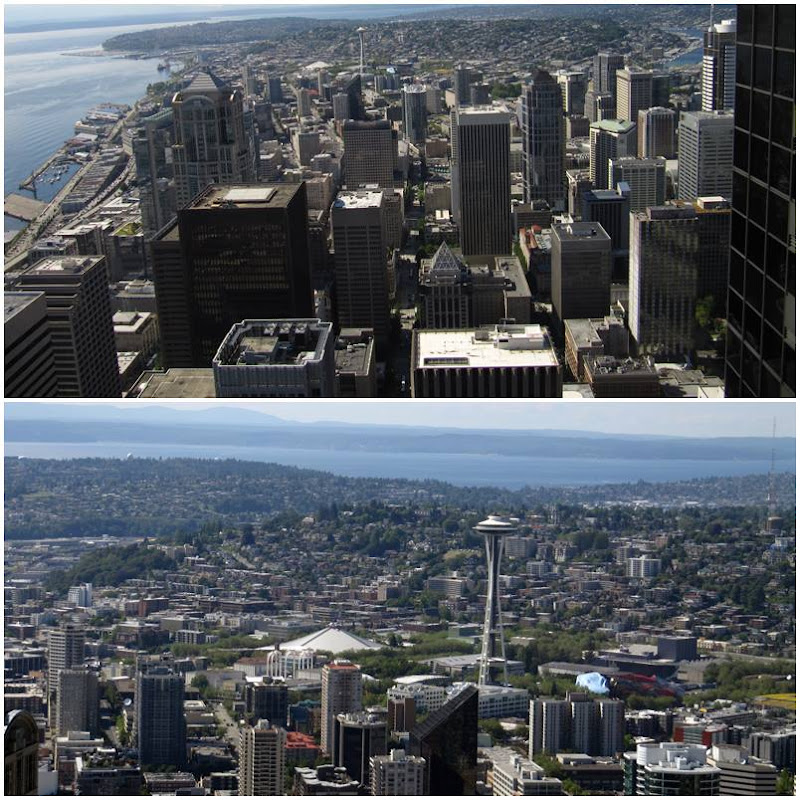 Seattle: Bank of Amerika - Sky View