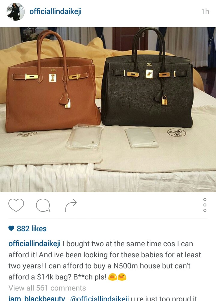 94fc4d89bb09 I also think she should stay closed knowning that many people beef her so  much... Winks darling    . HERMES LINDAIKEJI 4
