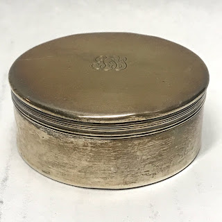 Tiffany & Co. Sterling Silver Lidded Box