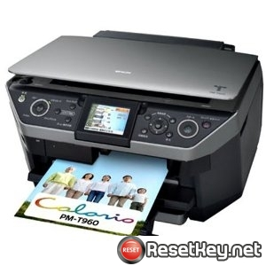 Reset Epson PM-T960 printer Waste Ink Pads Counter