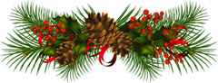 Transparent_Christmas_Pine_Cones_PNG_Clipart