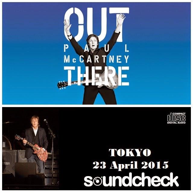 Paul McCartney - Tokyo Dome, Tokyo, 23 April 2015 -SoundCheck