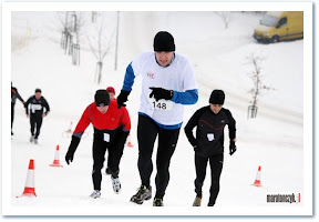 Mistrzostwa Warszawy w biegu górskim 2010.12.18, Kopa Cwila, Warszawa