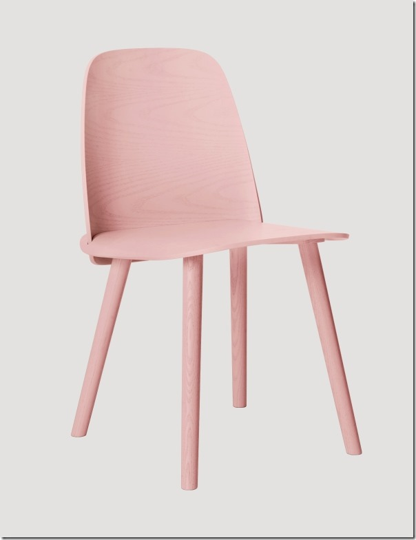 Sedia Nerd Muuto-chair rose