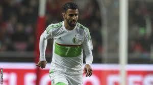 Mahrez to take Algeria to Semi-final. PHOTO | Skysports