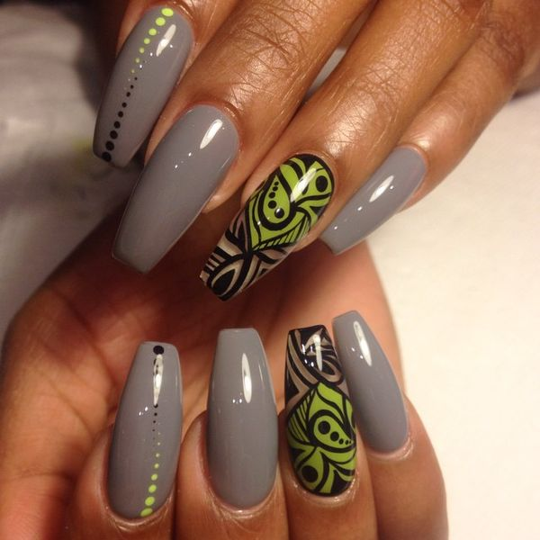 33 So Pretty Original Gray Nail Art Designs 2019 Styles Art