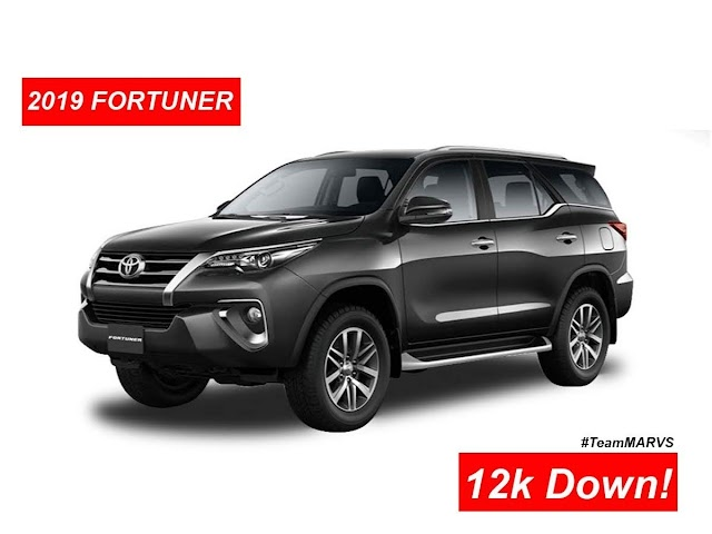 2019 FORTUNER Promo! As low as ₱12,000 Down! Toyota-PROMOS by Marvin MASONGSONG