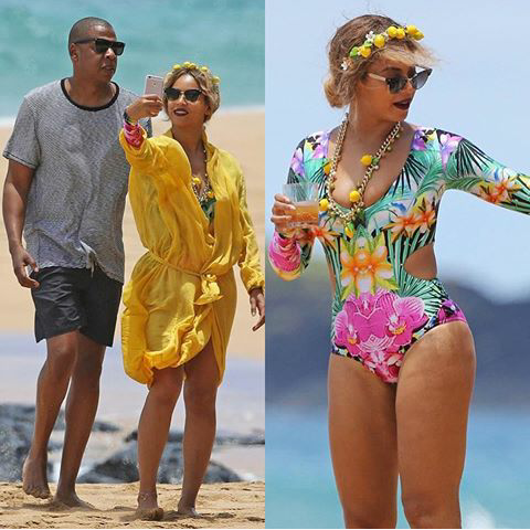 Beyonce and Jay-Z caught in Hawaii