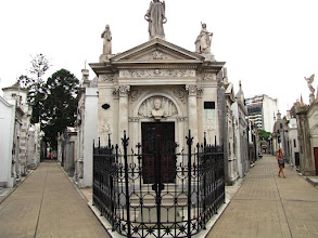 Photo: Friedhof von Recoleta