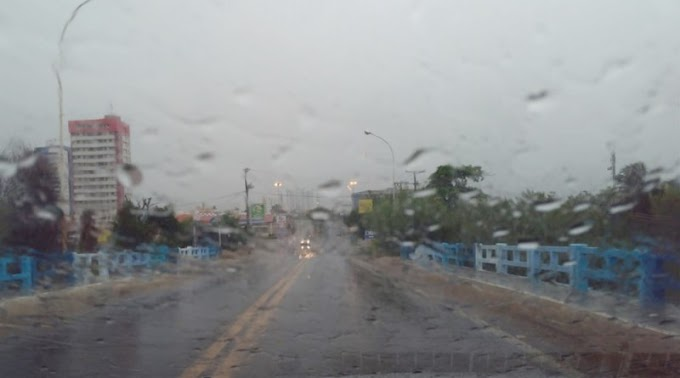 Passou dos 100 mm: Chove forte em em Patos e vários municípios da região. Veja os índices