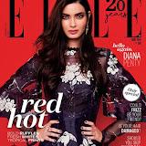 Diana Penty on Elle India Magazine June 2016