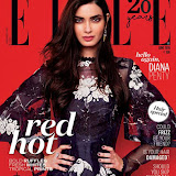 Diana Penty on Elle India Magazine June 2016