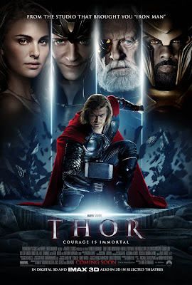 Thor International One Sheet Movie Poster