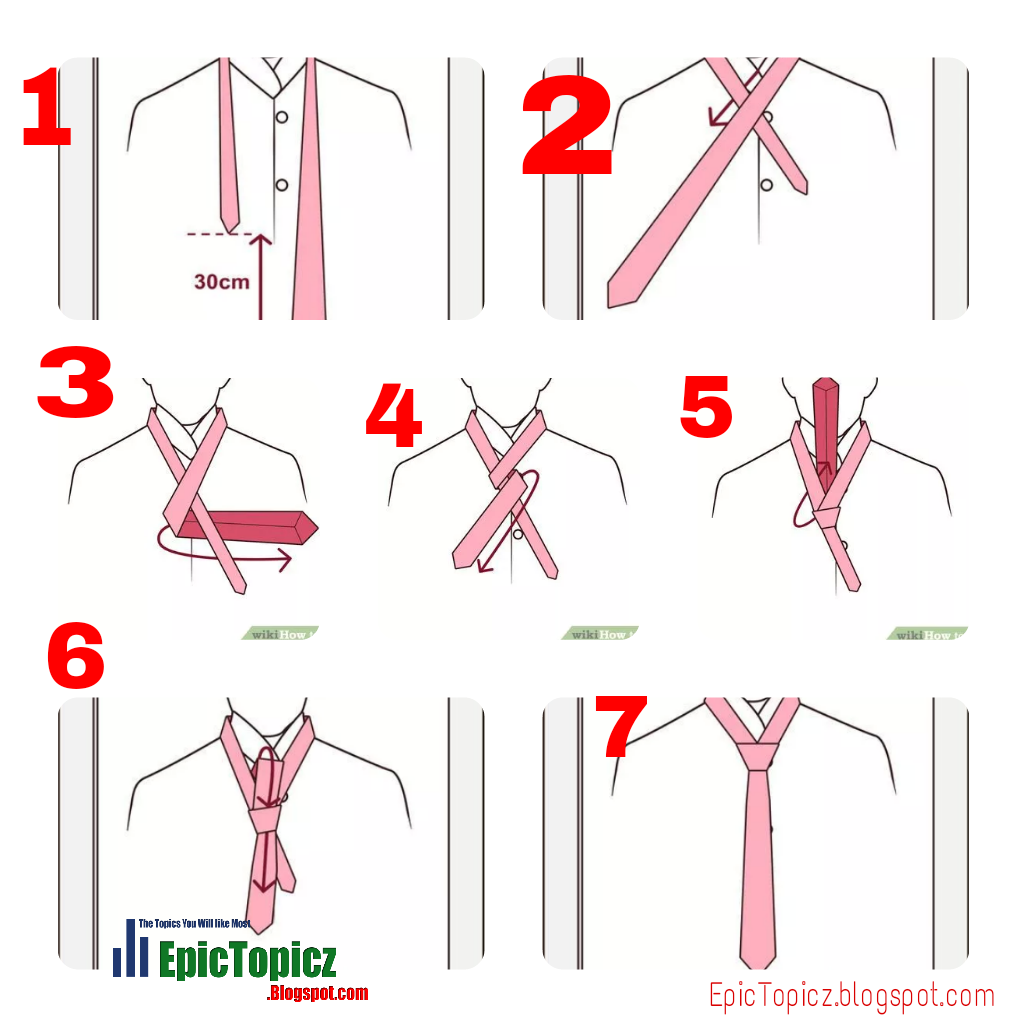Tying A Tie Step By Step: How To Tie A Tie? 7 Easy Step To Tie A Tie