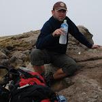 Odpoczynek na szczycie Inatye, 4070m npm