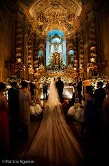 Foto 0498. Marcadores: 14/06/2008, Altar, Igreja, Nossa Sra Monte do Carmo, Rio de Janeiro, Roberta e Bruno