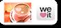 コーヒーのwe♥itフォローボタン