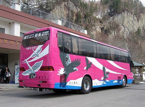斜里バス「イーグルライナー」 ・239 リア