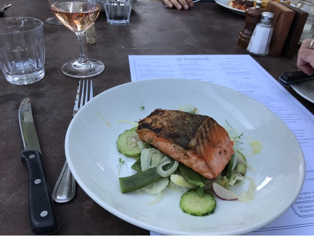 Farmstead at Long Meadow Ranch - Grilled Wild King Salmon
