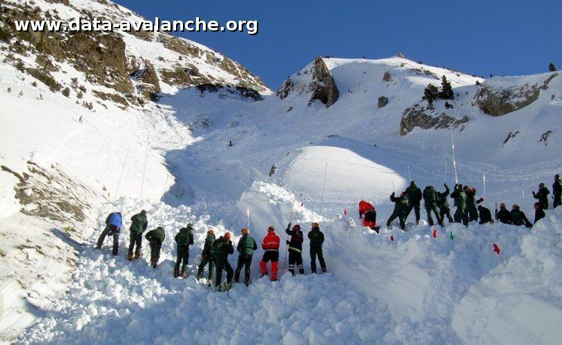 Avalanche Pyrénées, secteur Pic de Sauvegarde, Versant Sud - Photo 1