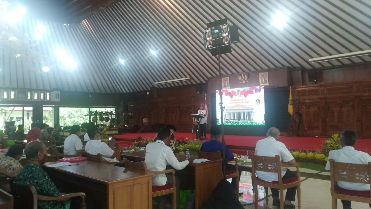Zoom Meeting, Pemkab Klaten, Gelar Musrenbang RKPD Th 2022