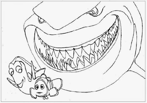 pearl finding nemo coloring page finding nemo color pages - Crush Finding Nemo Coloring Pages