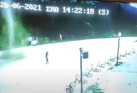 Μικρός ανεμοστρόβιλος σχηματίστηκε χθες στο Περτούλι εν μέσω καύσωνα (βίντεο)