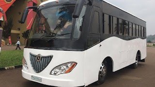 Uganda solar-powered bus