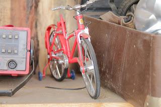 Миниатюрный велосипед