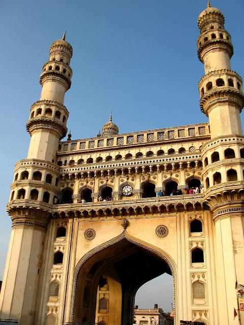 Hyderabad - Rare Pictures - charminarmod.jpg