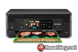 Reset Epson XP-446 ink pads are at the end of their service life