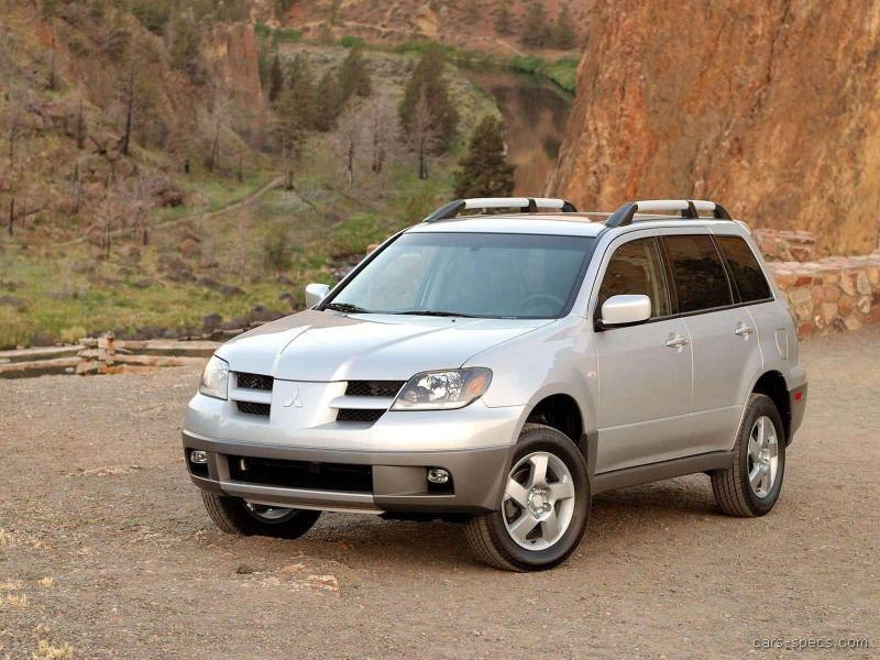 2006 mitsubishi outlander suv specifications pictures prices. Black Bedroom Furniture Sets. Home Design Ideas
