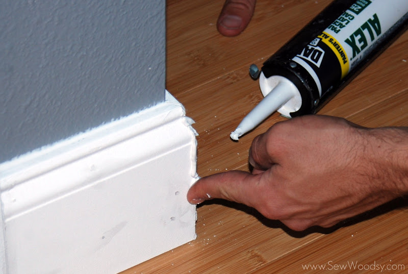 Tall Baseboards & Crown Molding {Tips & Tricks} | Sew Woodsy