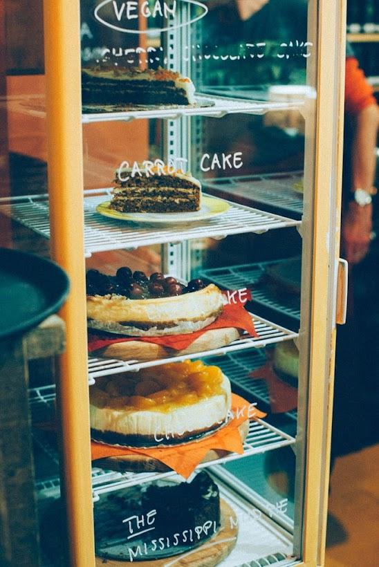 Verschillende zelfgebakken taart Bij Britta hotspot Groningen