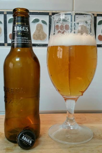 Cerveza Argus Reserva 1844 cervezame en los labios