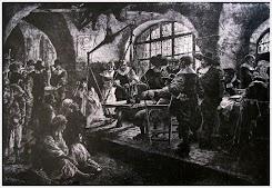 Гравюра в замке Бран
