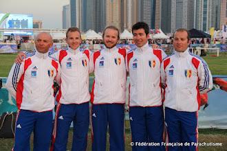 Photo: L'équipe de Canopy Piloting  @ Dubaï, WPC 2012