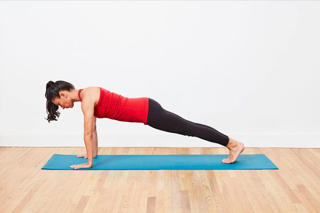 Upright Plank