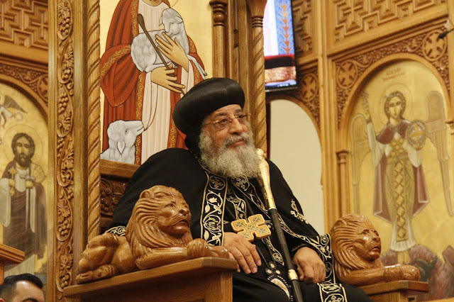 His Holiness Pope Tawadros II visit to St. Mark LA - _MG_0580.JPG