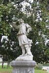 Een musketier in Pau. Zie ook de link in Googlemaps als bewijs.