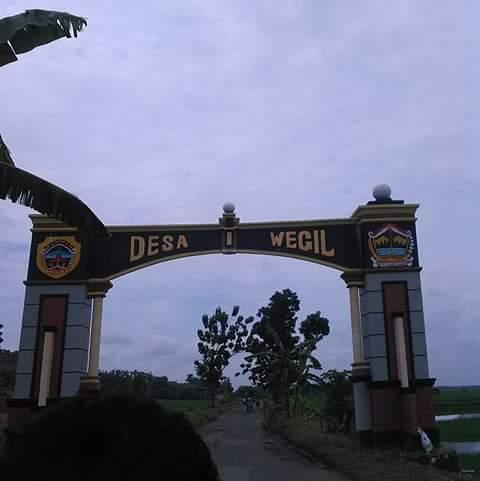 Gapura Desa Wegil