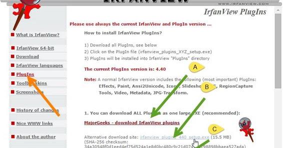 Come aprire i file SWF e molti altri formati con IrfanView
