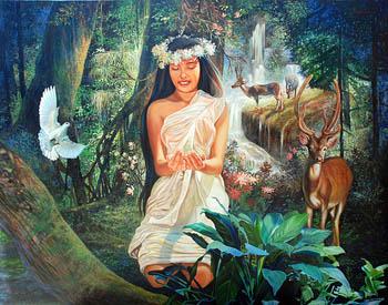 Maria Cacao, Gods And Goddesses 5