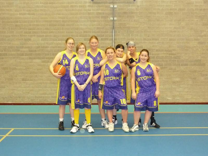 Dames 1Uit in Mijdrecht2008