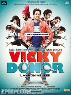 Bước Qua Lời Nguyền - Vicky Donor (2012) Poster