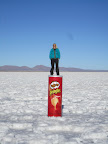 Hails on the giant tube of pringles we carried around for 3 days.